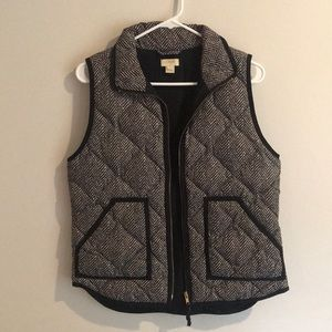 J crew puff jacket